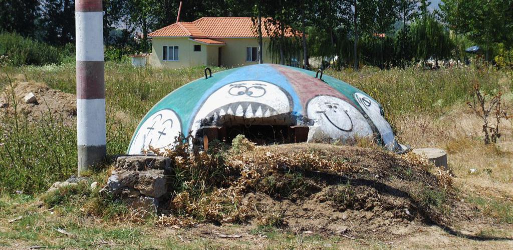 Vado in Albania | Bunker in Pogradec
