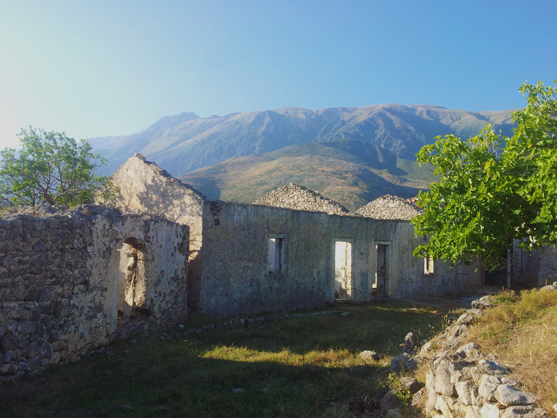 Capodanno in Albania_Resti del monastero di San Teodoro, nei pressi del Canyon di Gjipe