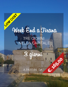 Vacanze in Albania, week end a Tirana