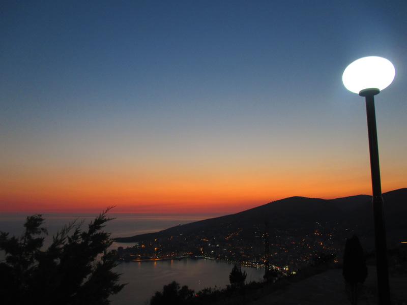 Vacanze in Albania Saranda vista dal castello
