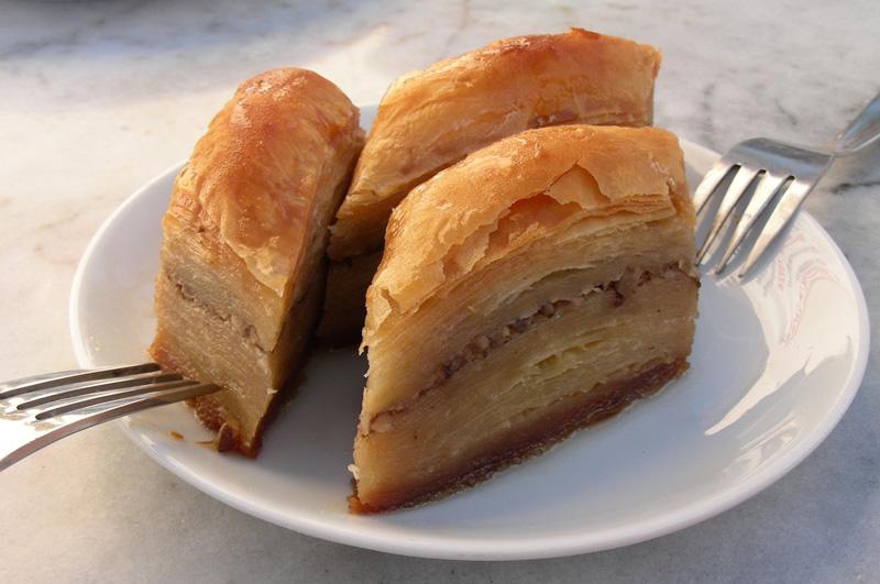 Vacanze in Albania, cucina albanese, bakllava