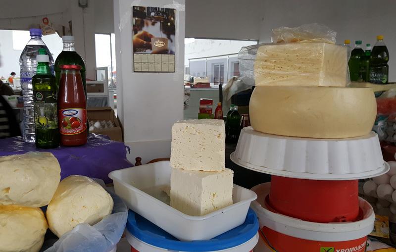 Vacanze in Albania, cucina albanese, mercato di Korça