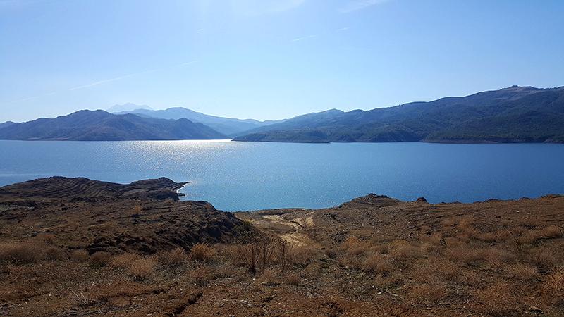 Itinerari di viaggio in Albania, liqeni i Banjes
