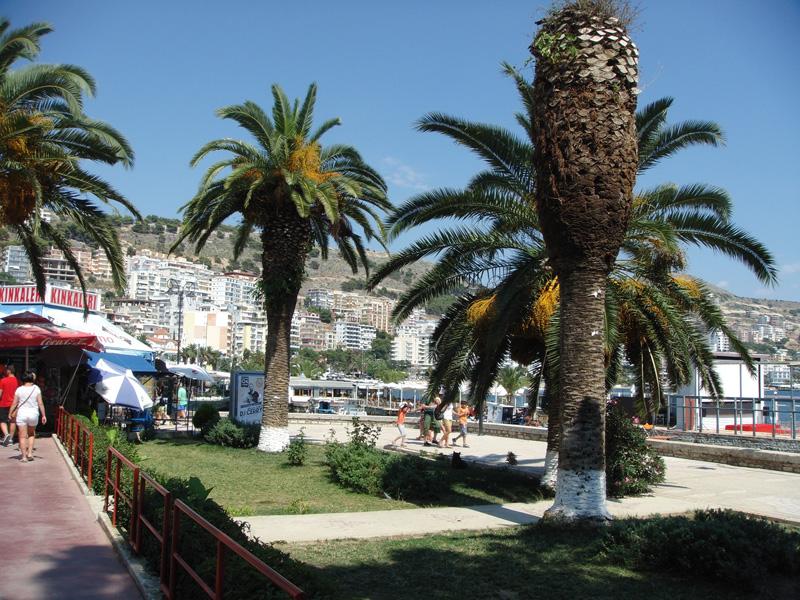 Vacanze in Albania, Saranda Promenade