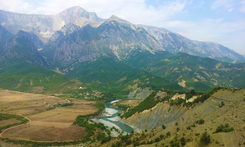 Vacanze in Albania, Jeep Albania, Saranda cosa fare, strada entroterra verso Korça