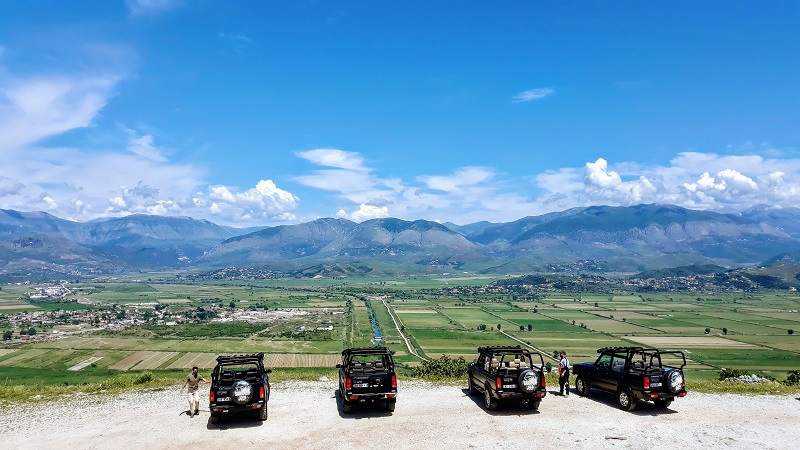 Saranda Jeep safari adventure vacanze in Albania