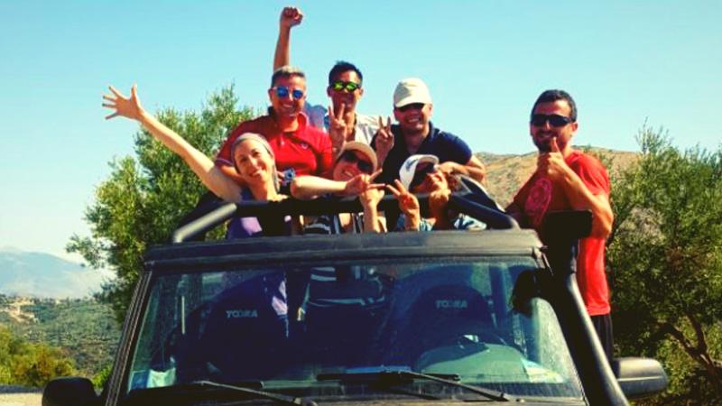 Vacanze in Albania Saranda Jeep
