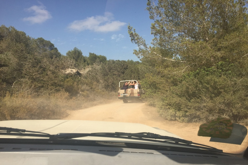Vacanze in Albania, Saranda Jeep off road