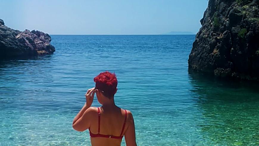 Prima vacanza in Albania, spiaggia Jale