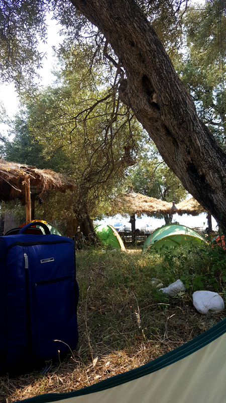 Vacanze in Albania lowcost CAmping a Drymades
