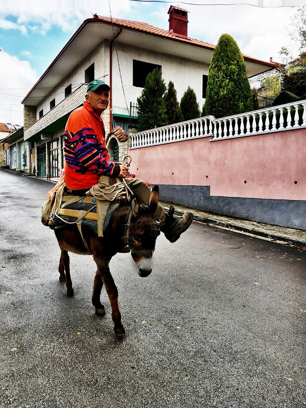 Volontariato in Albania, gruppo volontariato Albania signore anziano albanese