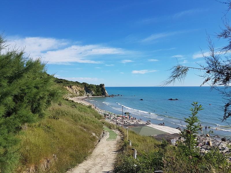 Spiagge in Albania, pazhi portez