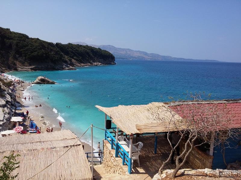 Spiagge in Albania Pulebardha