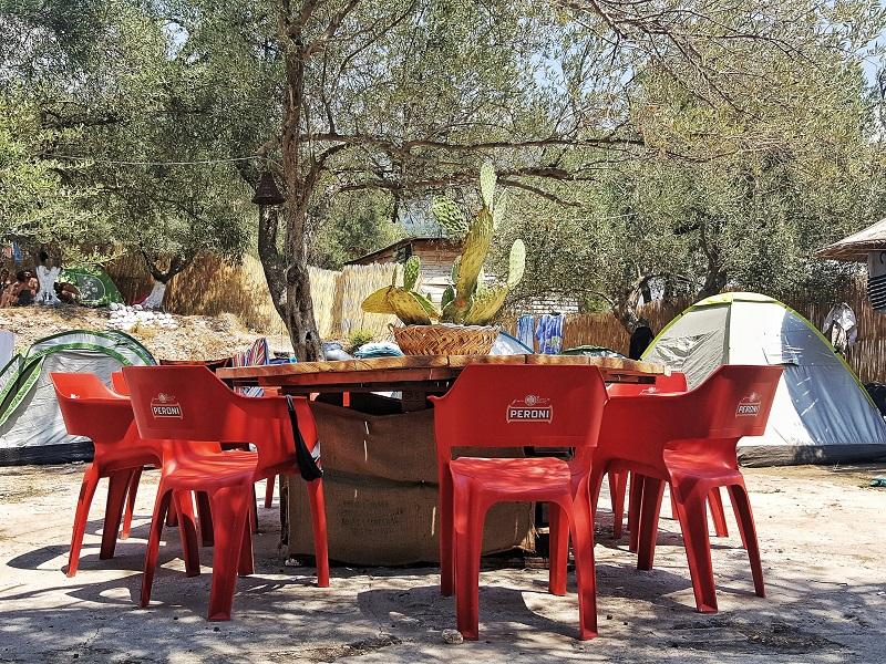 Campeggi in Albania, camping in albania, Bio Camp Drymades