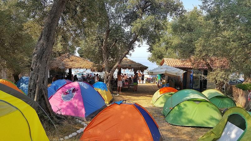 Campeggi in Albania, camping in Albania, Eco Camping Drymades