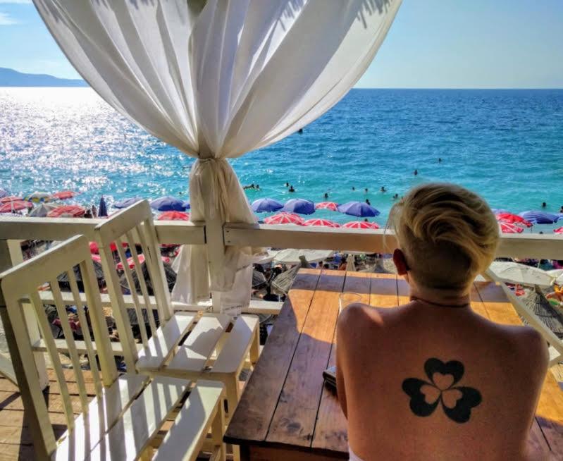 Itinerari in Albania Pulebarda beach