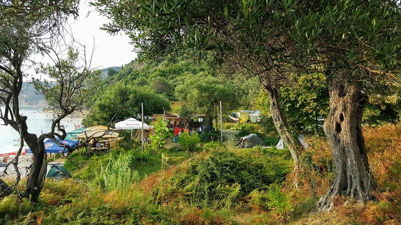 Vacanze a Saranda camping Gate to Horizon