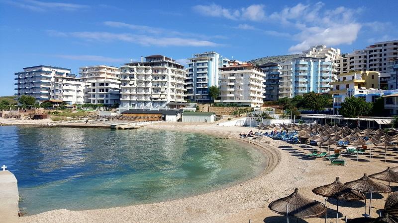 Vacanze a Saranda, spiaggia del Epirus hotel
