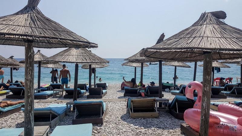 Vacanze a Saranda disagi spiaggia di Borsh