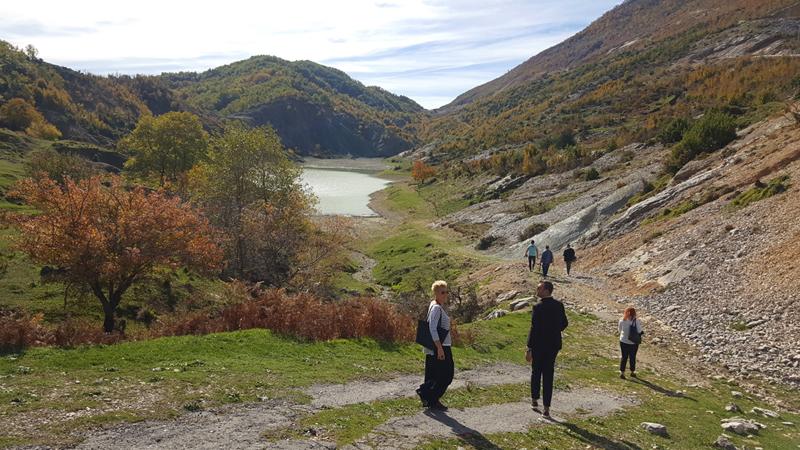 Autunno in Albania, foliage,Shengjergj