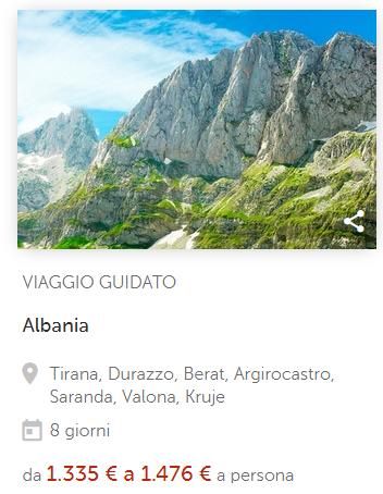 Albania di Boscolo viaggi