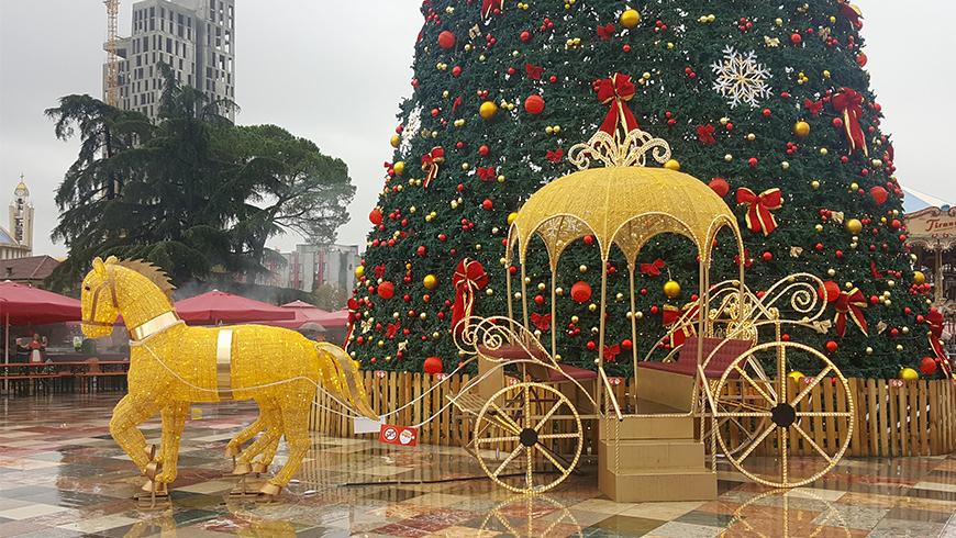 Capodanno a Tirana