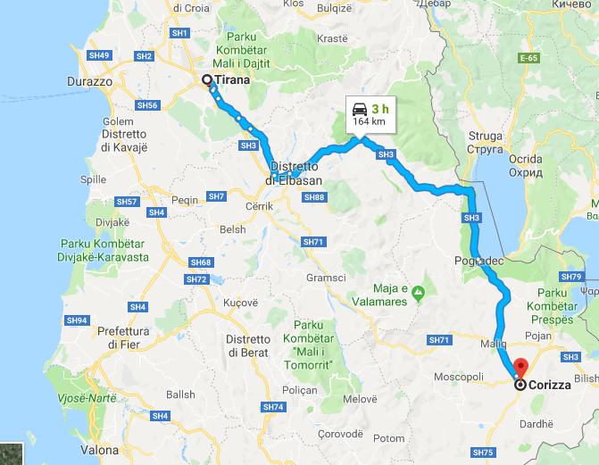 Capodanno a Korça come raggiungere Korça