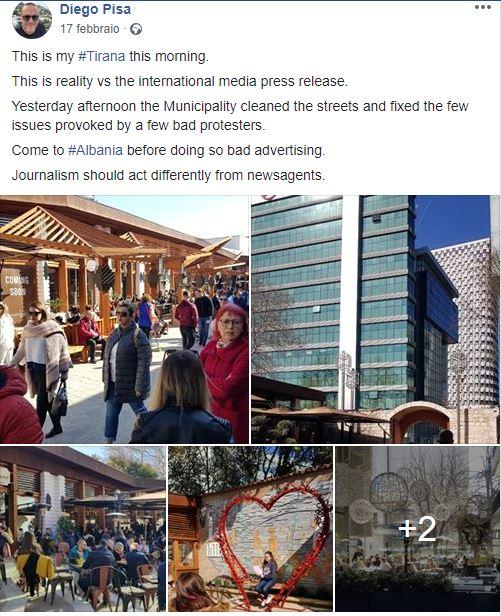 Tirana e Kalaja e Tiranes Viaggiare sicuri in Albania, Sicurezza Albania