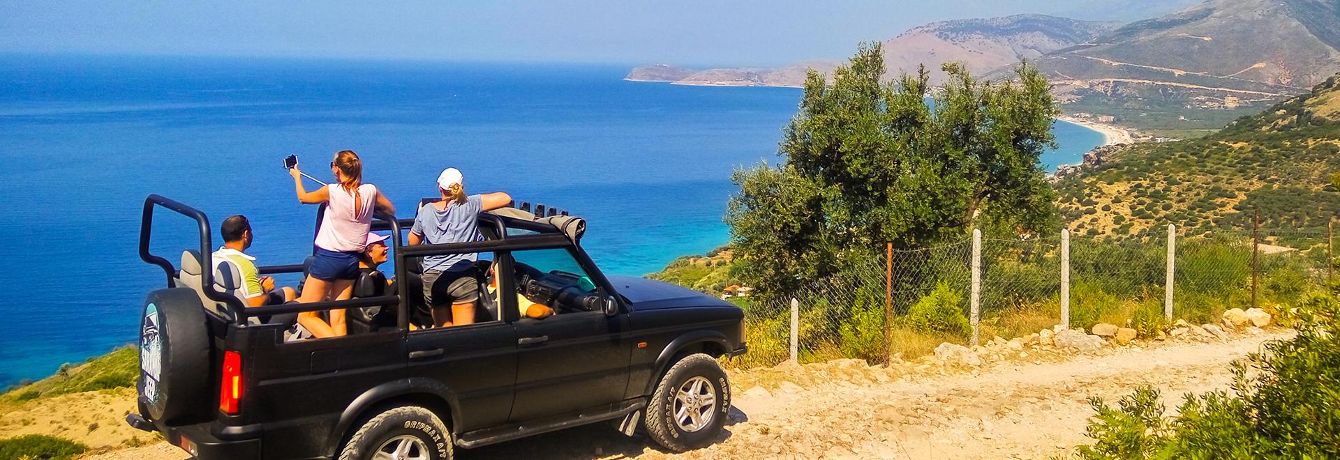 Saranda Jeep jeeptour albania