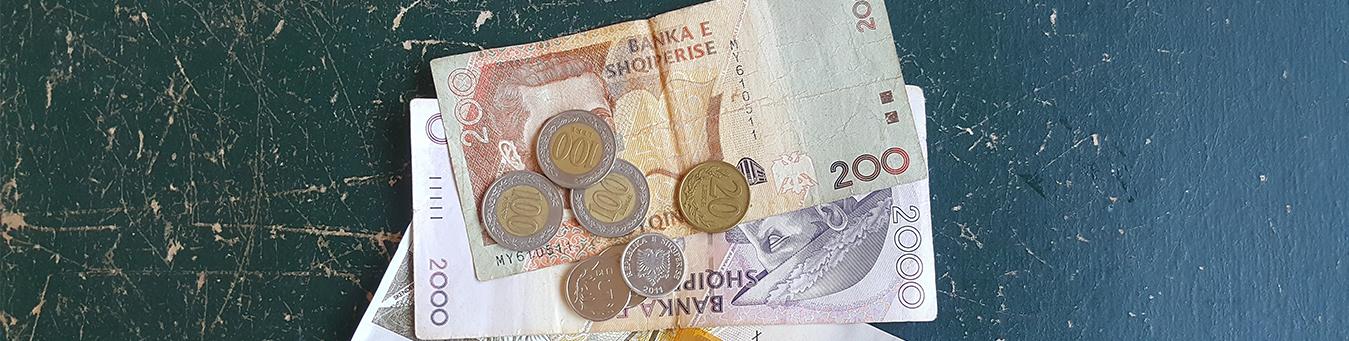 moneta in Albania lek