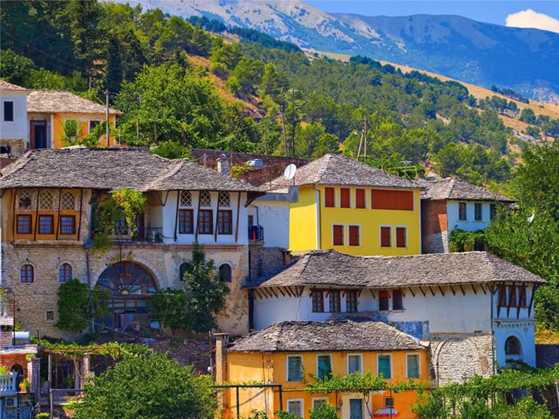 Gjirokastra case storiche, tour albania