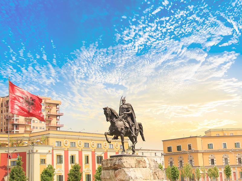 Skanderbeg la storia dell'Albania
