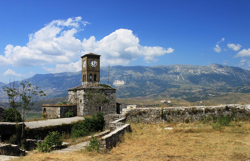 Gjirokastro Argirocastro castello tour e vacanze in Albania
